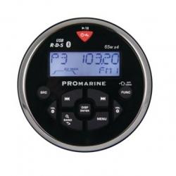 LTC Promarine FM-radio Bluetooth yhteydellä, musta
