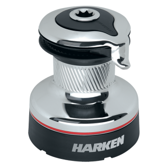 Harken 35.2 Radial Self-Tailing vinssi, kromi