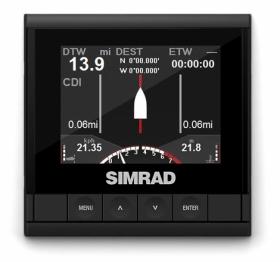 Simrad IS35-mittarinäyttö
