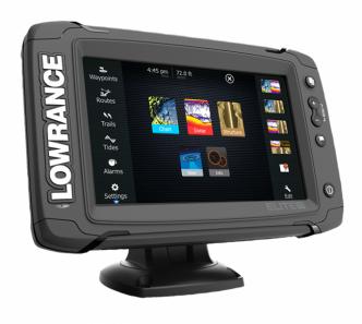 Lowrance ELITE-7 Ti TotalScan kaikuluotain/karttaplotteri
