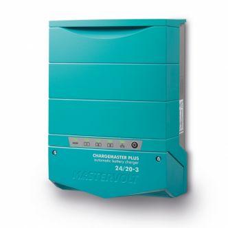 Mastervolt ChargeMaster Plus 24/20-3 automaattilaturi kolmella lähdöllä