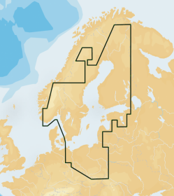 Navionics+ 44XG BALTIC SEA