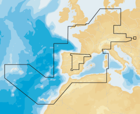 Navionics+ 46XG EUROPE WEST
