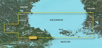 Garmin BlueChart g3 Vision HD, VEU471S Gulf of Bothnia, South
