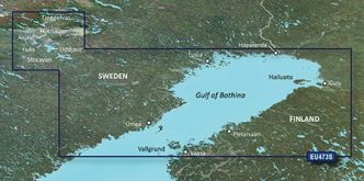Garmin BlueChart g3 Vision HD, VEU473S Gulf of Bothnia, North