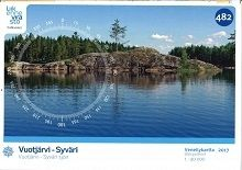 Sisävesikartta 482, Syväri 1:40 000, 2017