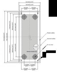 Simrad OP50 vaakasuora kaukohallintalaite monitoiminäytölle