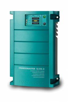 Mastervolt ChargeMaster 12/25-3 automaattilaturi kolmella lähdöllä
