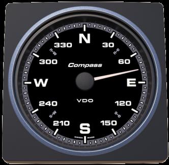 VDO AcquaLink kompassinäyttö