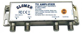 Glomex 50023/14 antennivahvistin automaattisäädöllä