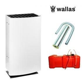 Wallas 26CC lämmitinpaketti hormiasennukseen valkoinen