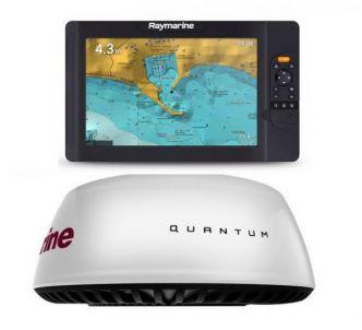 Raymarine Element 12S ja Quantum Q24C Wi-Fi tutka