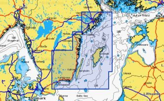 Navionics XL Platinum+ 5P400XL Stockholm to Ahus