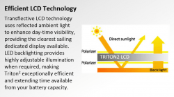 B&G Triton² monitoiminäyttö