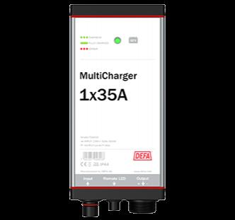 Defa PowerSystems MultiCharger 1x35A maasähkölaturi