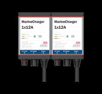 Defa PowerSystems MarineCharger 2x12A maasähkölaturi