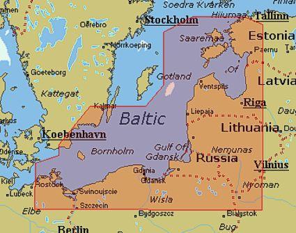 C Map Nt En C706 Viro Latvia Liettua Ja Puola Marinea