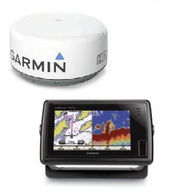 Garmin GPSMAP 721xs + GMR 18HD tutkapaketti