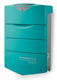 Mastervolt ChargeMaster Plus 12/75-3 automaattilaturi kolmella lähdöllä