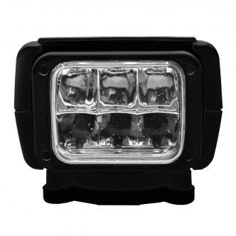 ACR RCL-95 LED-valonheitin langattomalla sekä langallisella kauko-ohjauksella, musta