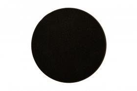MIRKA Kiillotuslaikka 150 x 25 mm vaahto musta sileä, 2 kpl pakkaus
