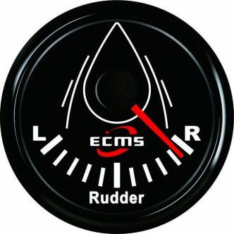 ECMS peräsinkulmanäyttö 52 mm, musta