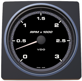 VDO AcquaLink kierrosluku 3000 rpm
