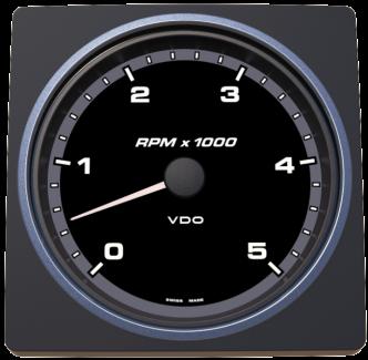 VDO AcquaLink kierrosluku 5000 rpm