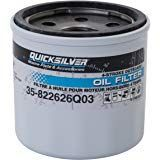 Mercury Quicksilver lyhyt öljynsuodatin (8-15HP)