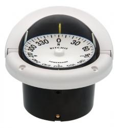 Ritchie Helmsman- kompassi uppoasennuksella, valkoinen takaa luettava