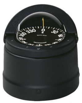 Ritchie Navigator- kompassi kansiasennuksella, musta