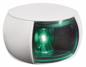 Hellamarine NaviLED sivuvalo vihreä, valkoinen