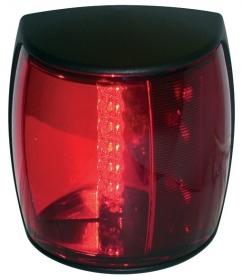 Hellamarine NaviLED Pro sivuvalo punainen, musta