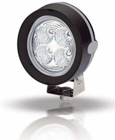 Hellamarine kansivalo Mega Beam LED, musta