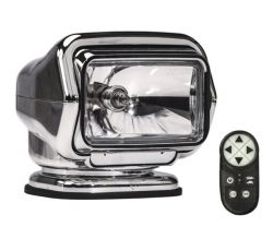 Golight Stryker ST radio-ohjattava valonheitin, kromi
