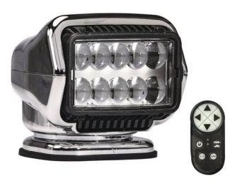 Golight LED Stryker ST radio-ohjattava valonheitin, kromi