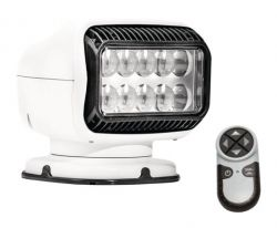 Golight LED GT radio-ohjattava valonheitin, valkoinen