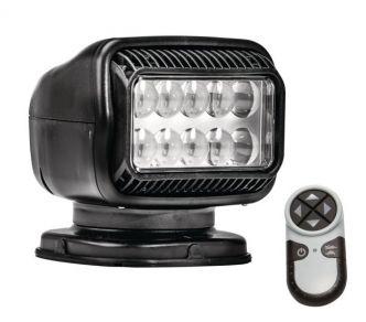 Golight LED GT radio-ohjattava valonheitin, musta