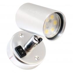 Båtsystem TUBE D1 LED-lukuvalo, alumiini