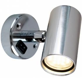 Båtsystem TUBE D2 LED-lukuvalo, alumiini