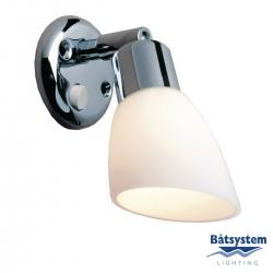 Båtsystem OPAL LED-kohdevalo kromi, valkoinen
