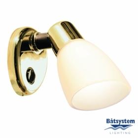Båtsystem OPAL LED-kohdevalo messinki, valkoinen