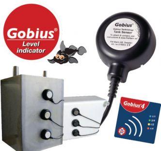 GOBIUS 4 vesi-/polttoainemittari, portaaton