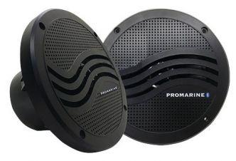 "LTC Bluetooth kaiutinpari 6,5"" musta"