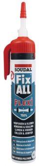 Soudal Fix-all 200 ml valkoinen painepakkauksessa