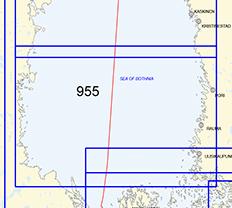Yleismerikartta 955, Eteläinen Selkämeri 1:250 000, 2016