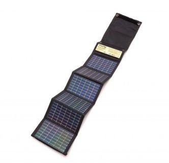 PowerFilm® taitettava aurinkopaneeli 2.2 W + 4 kpl 2000 mAh akku