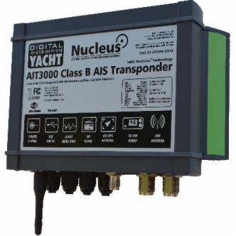 DIGITAL YACHT AIT3000 AIS-transponderi splitterillä ja WiFillä