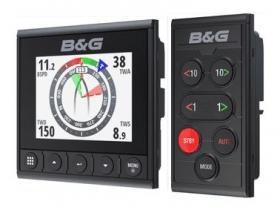 B&G Triton² autopilotin hallintalaite + monitoiminäyttö