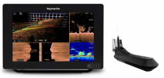 Raymarine AXIOM 9 RV RV-100 3D peräpeilianturilla